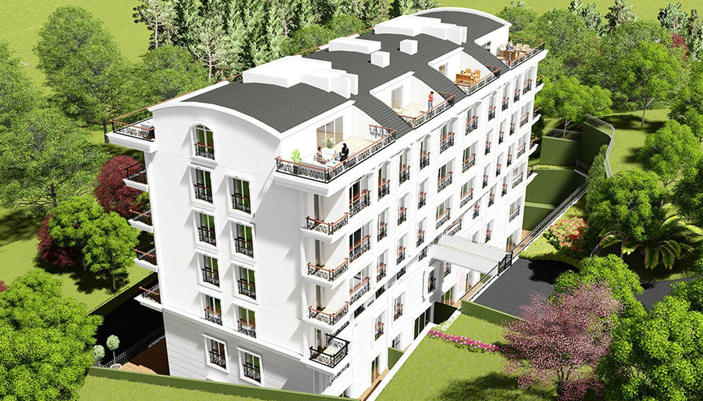 Hochwertige Wohnungen in der günstigen Gegend in Yalova