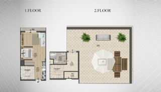 Special Architecture Apartments in Luxury Project of Yalova, Property Plans-2
