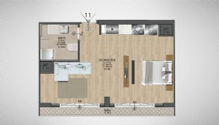 Special Architecture Apartments in Luxury Project of Yalova, Property Plans-4