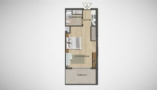 Special Architecture Apartments in Luxury Project of Yalova, Property Plans-5