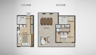 Special Architecture Apartments in Luxury Project of Yalova, Property Plans-6