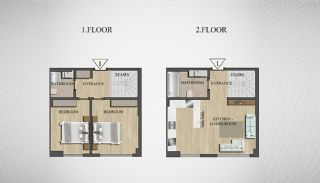 Special Architecture Apartments in Luxury Project of Yalova, Property Plans-7