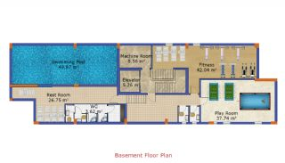 New Built Flats in Yalova Ciftlikkoy by the Seaside, Property Plans-1
