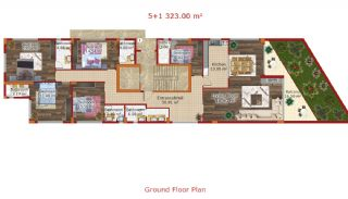 New Built Flats in Yalova Ciftlikkoy by the Seaside, Property Plans-2