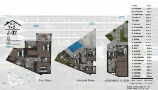 Luxurious Semi-Detached Villas Close to the Sea in Yalova, Property Plans-1